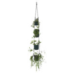 Vertical Flowerpots Darkgreen